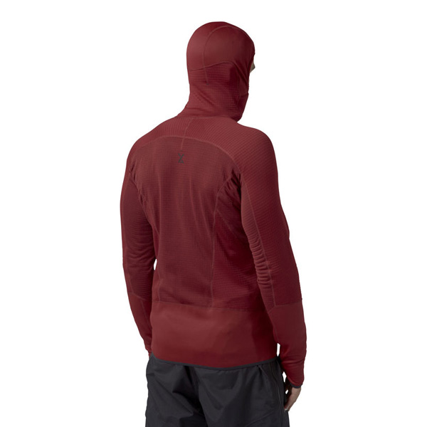 Men Berghaus EXTREM 7000 HOODIE DARK RED / RED Outlet Online
