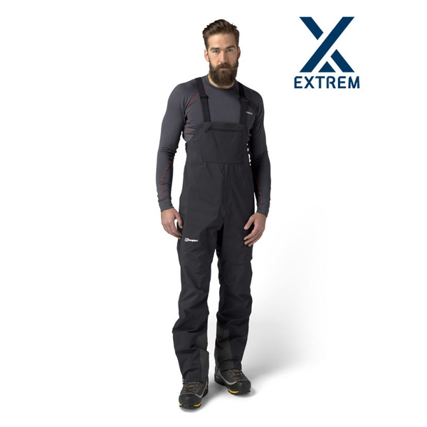 Men Berghaus EXTREM 8000 PRO BIB TROUSERS BLACK Outlet Online