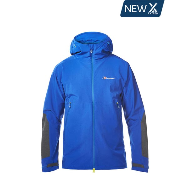 Men Berghaus EXTREM FAST CLIMB SOFTSHELL JACKET BLUE Outlet Online