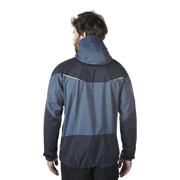 Men Berghaus LIGHT TREK WATERPROOF JACKET DARK GREY / BLACK Outlet Online