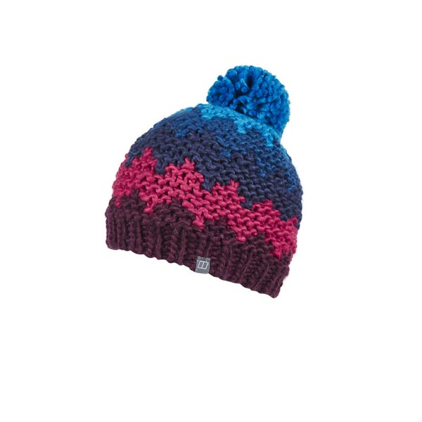Women Berghaus HARTLAND BEANIE DARK PURPLE / PINK Outlet Online