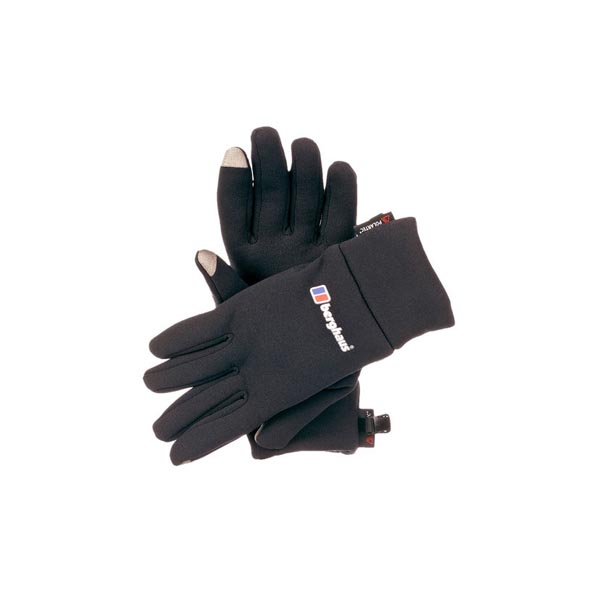 Women Berghaus TOUCH SCREEN GLOVE BLACK Outlet Online