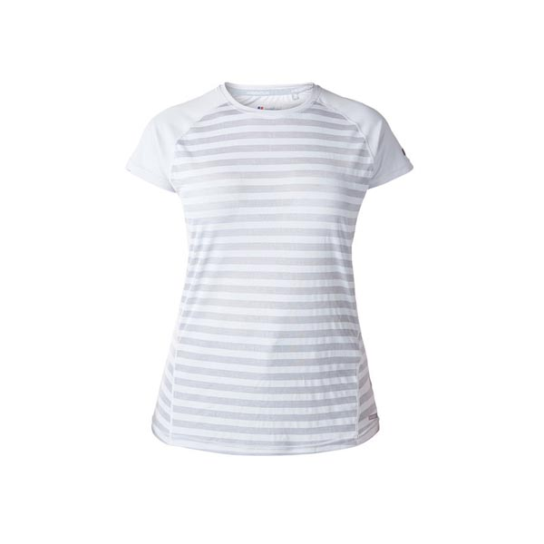 Women Berghaus STRIPED SHORT SLEEVE BASECREW GREY Outlet Online