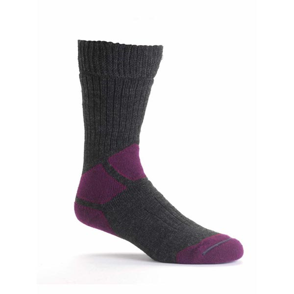 Women Berghaus HILLMASTER SOCKS DARK GREY/DARK PURPLE Outlet Online