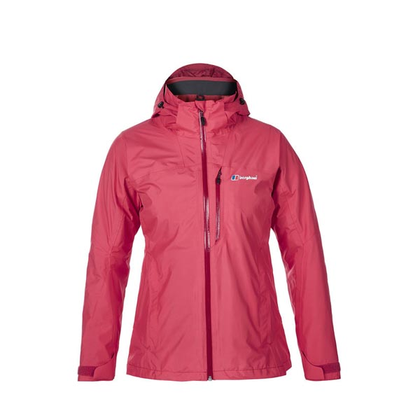 Women Berghaus ISLAND PEAK WATERPROOF JACKET RED Outlet Online